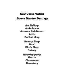 Drama Game-ABC Conversation
