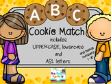 ABC Cookie Letter Match