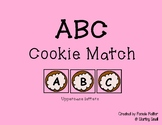 ABC Cookie Letter Match - Uppercase