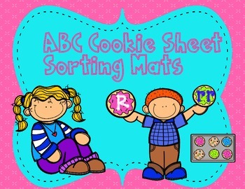 ABC Cookie Sheet Sorting Mats