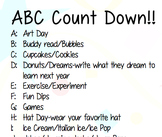 ABC Count Down