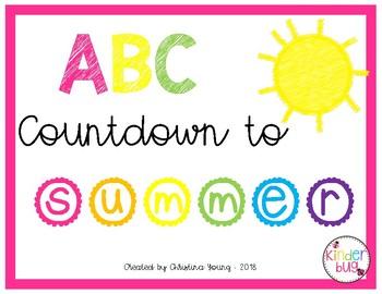 ABC Countdown Calendar