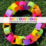 ABC Countdown: Fun Activities for the Last 26 Days of School