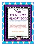 ABC Countdown Memory Book! Perfect for End of the Year! Any Grade!26 Days!