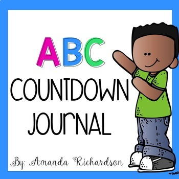 ABC Countdown Journal