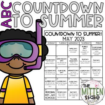 ABC Countdown to Summer Calendar!