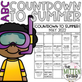 ABC Countdown to Summer Calendar and Memory Book