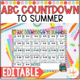 ABC Countdown to Summer Freebie