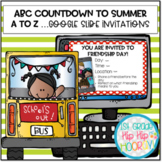 ABC Countdown to Summer for Distance Learning Google Slides!