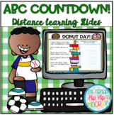 ABC Countdown to Summer for Distance Learning Slides!