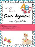 ABC Countdown to Summer in Spanish, Cuenta Regresiva para