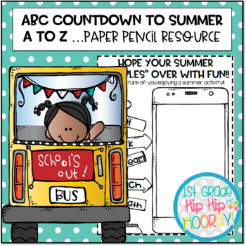 ABC End of the Year countdown to SUMMER Bundle!!