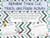 ABC Cut, Match, and Paste FREEBIE!