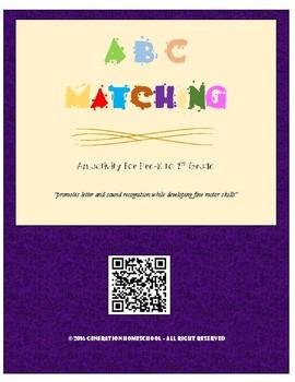 ABC Cut & Paste Activity Book