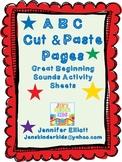 ABC Cut & Paste Pages