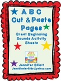 ABC Cut & Paste Pages