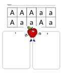 ABC Cut, Paste and Sort Capital and Lowercase Letters