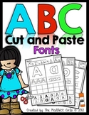 ABC Cut and Paste Fonts