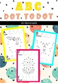 ABC DOT TO DOT FOR KINDERGARTEN AND PRE-KG