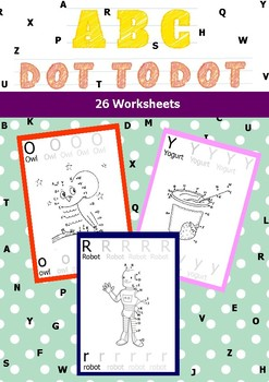 ABC DOT TO DOT FOR KINDERGARTEN AND PRE-KG (second edition)