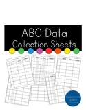 ABC Data Collection Sheets