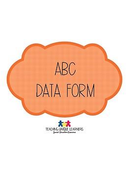 ABC Data Form