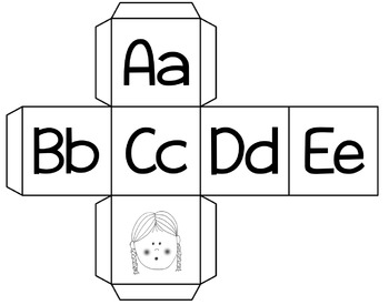 Alphabet Race to the Top Dice Game