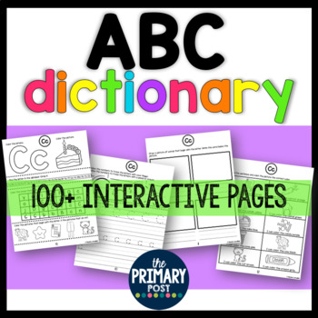 ABC Dictionary for Letters and Letter Sounds