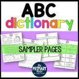 ABC Dictionary FREEBIE Sampler