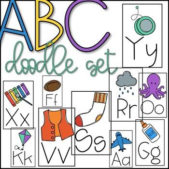 ABC Doodle Set