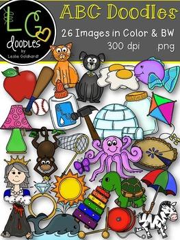 ABC Doodles Bundle (Sets #1 & #2)