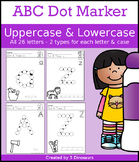 ABC Dot Marker Uppercase & Lowercase