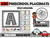 ABC - Drive (Preschool Placemats)