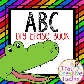 Alphabet Dry Erase Book
