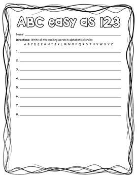 ABC Easy as 123