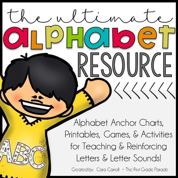 Printable Alphabet Anchor Charts & Activities