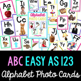 Phonics - Letters & Sounds Photo Cards {Colorful}
