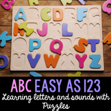 Phonics - Letters and Sounds Puzzles