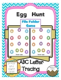 ABC Egg Hunt- File Folder Game