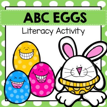 ABC Egg Tracing Pre-K Preschool Kinder