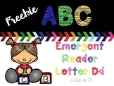 ABC Emergent Readers Freebie