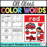 Color Words Emergent Readers (Interactive)