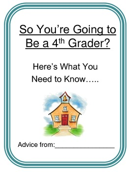 ABC End Of Year Advice Book 4th grade