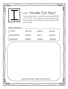 End of Year ABC Countdown Activity Book