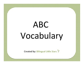 ABC English Vocabulary