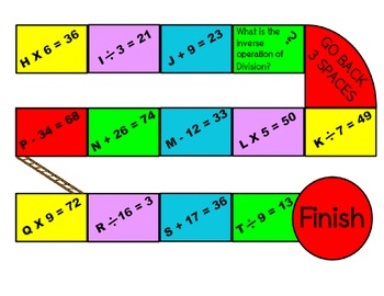 ABC Equations game