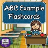 ABC Example Flashcards Pack