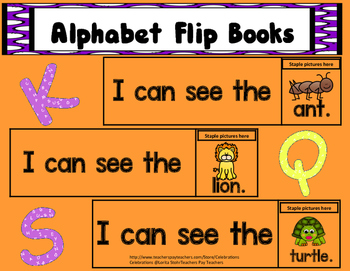 ABC FLIP BOOKS