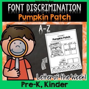 ABC Pumpkin Patch Letter Sort