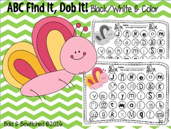 ABC Find It, Dob It Butterfly!